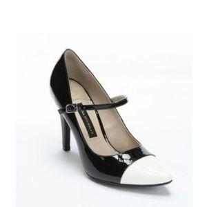 Dana Buchman Noelle black & white Pump's